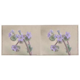 Phacelia Purple Wildflowers Tyvek® Billfold Wallet