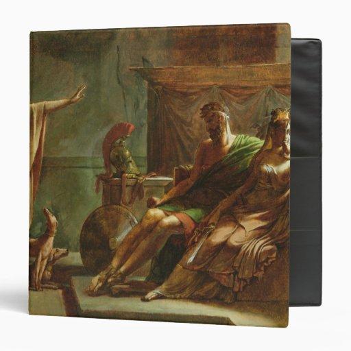 Phaedra and Hippolytus, 1802 3 Ring Binder