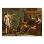 Phaedra and Hippolytus, 1802 Greeting Card