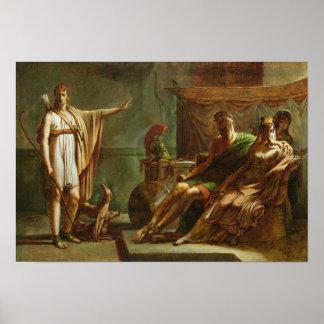 Phaedra and Hippolytus, 1802 Poster
