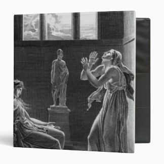 Phaedra and Oenone, illustration from Act I Binder