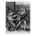 Phaedra, Oenone e Hippolytus Postal