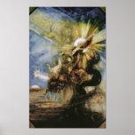 Phaeton, Gustave Moreau Poster