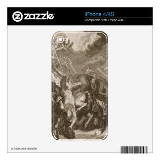 Phaeton Struck Down by Jupiter's Thunderbolt, 1731 iPhone 4 Skin
