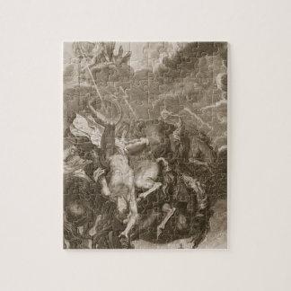 Phaeton Struck Down by Jupiter's Thunderbolt, 1731 Puzzle