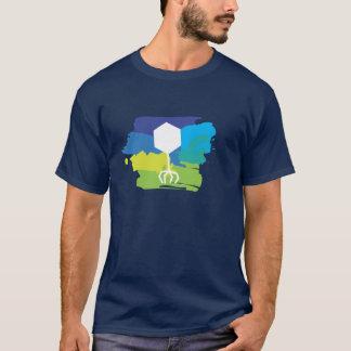 Phage Logo T-Shirt (Multi-Color; Blue/Green)