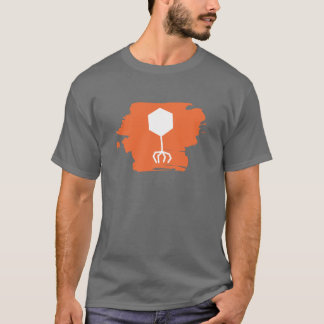 Phage Logo T-Shirt (Orange)