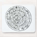 Phaistos disk mouse pads