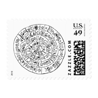 Phaistos disk postage