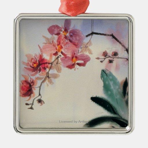 Phalaenopsis Metal Ornament