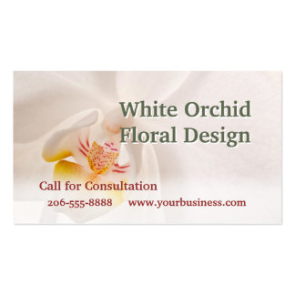 Phalaenopsis Moth Orchid Business Card