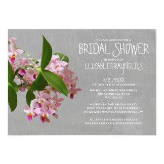 Phalaenopsis Orchid Bridal Shower Invitations Personalized Invitations