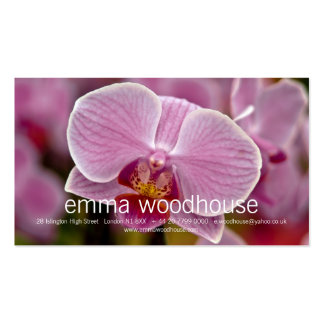 Phalaenopsis Orchid Business Card Template