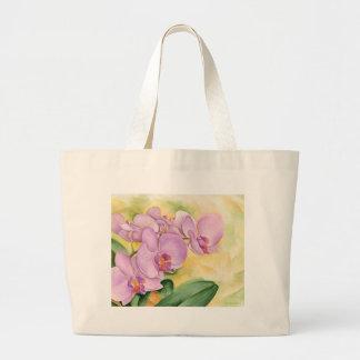 Phalaenopsis Orchid Flowers - Multi Large Tote Bag