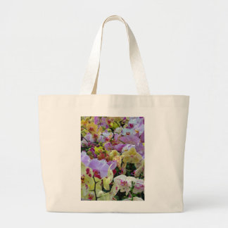 Phalaenopsis Orchids Large Tote Bag