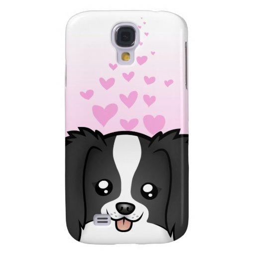 Phalene/amor de Chin del japonés Funda Para Galaxy S4