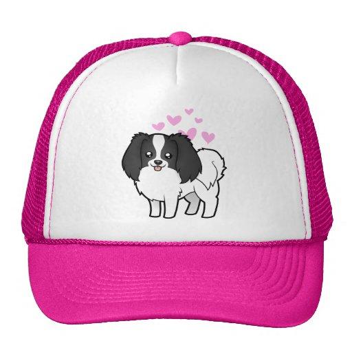 Phalene / Japanese Chin Love Trucker Hat