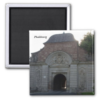 Phalsbourg - 2 inch square magnet