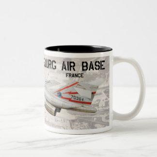 Phalsbourg Air Base (France) Two-Tone Coffee Mug