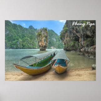Phang Nga, Tailandia Póster