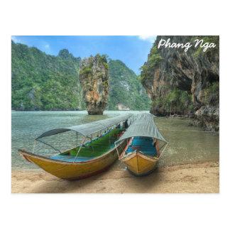 Phang Nga, Thailand Postcard