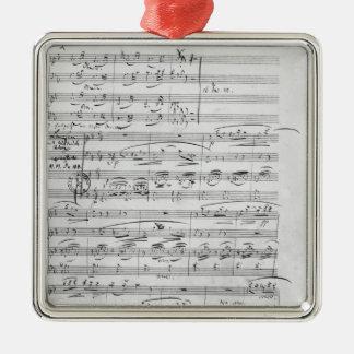 Phantasiestucke, Opus, for piano Metal Ornament