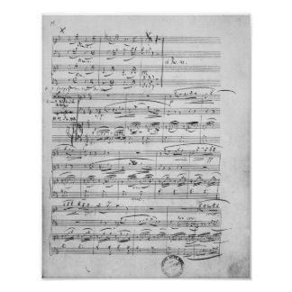 Phantasiestucke, Opus, for piano Poster