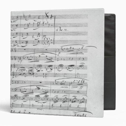 """Phantasiestucke, opus, para el piano carpeta 1 1/2"""""""