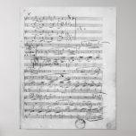 Phantasiestucke, opus, para el piano póster