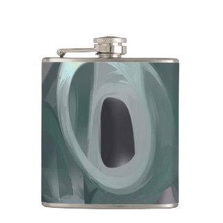 Phantasm Pastel Abstract Flask