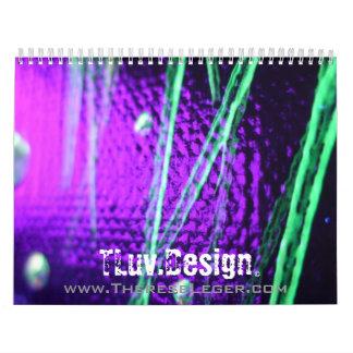 """Phantasmagoria"" Series 2012 Calender Calendar"
