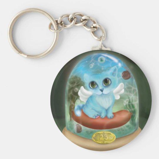 Phantasmagoric cat - Key-ring Keychain