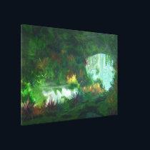 Phantastes: Lady of the Marble Canvas Print
