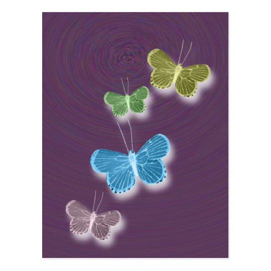Phantom Butterflies Postcard