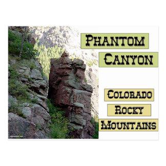 Phantom Canyon Postcard