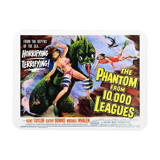 """""""Phantom From 10,000 Leagues""""  Magnet"""