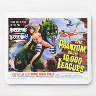 """Phantom from 10,000 Leagues""  Mousepad"