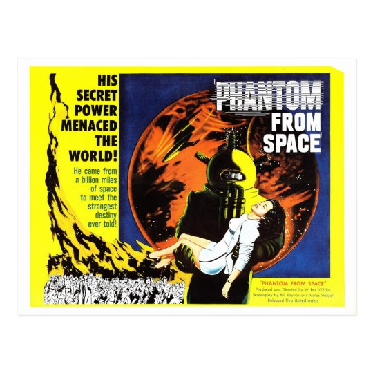 """Phantom From Space"" Postcard"