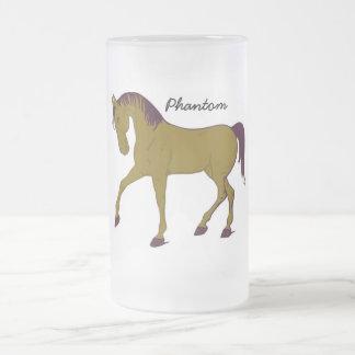 Phantom -Frosted Glass Mug