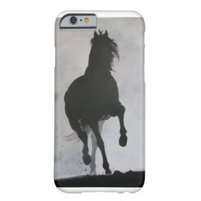 """Phantom"" Horse painting Barely There iPhone 6 Case"