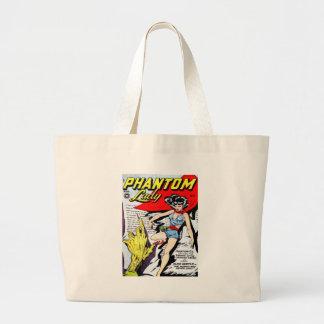 Phantom Lady #13 Jumbo Tote Bag