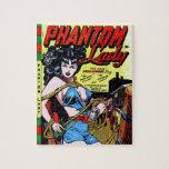 Phantom Lady 17 Vintage Comic Book Matt Baker Puzzle