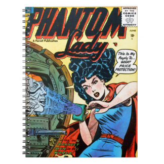 Phantom Lady -- Meanest Men in the World Notebook