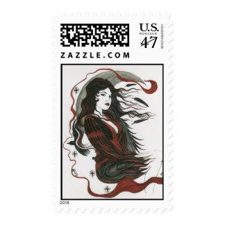 Phantom Queen Authentic USPS Postal Stamps