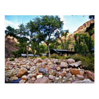 Phantom Ranch - Grand Canyon National Park Postcard