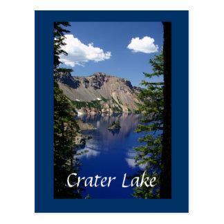 Phantom Ship and Crater Lake Postcard