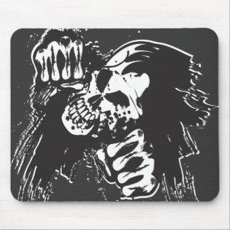Phantom Skull Mouse Pad
