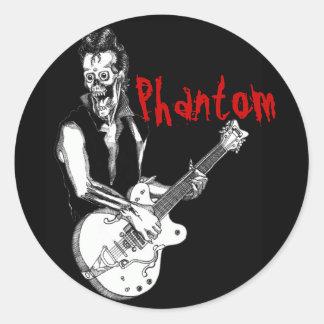 Phantom Sticker. Classic Round Sticker