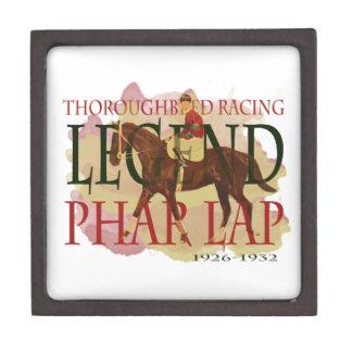 Phar Lap - Thoroughbred Horse Racing Legend Keepsake Box