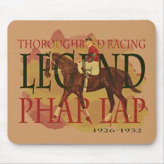 Phar Lap - Thoroughbred Horse Racing Legend Mouse Pad